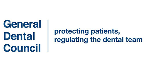 All our Dental practitioners are registered with the General Dental Council
